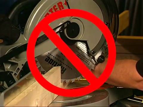 Miter Saw Safety Measures