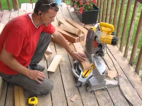 Cut Baseboards With a Miter Saw