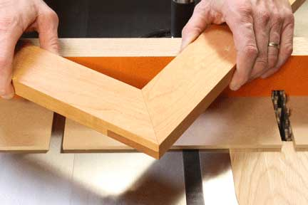 miter cut application
