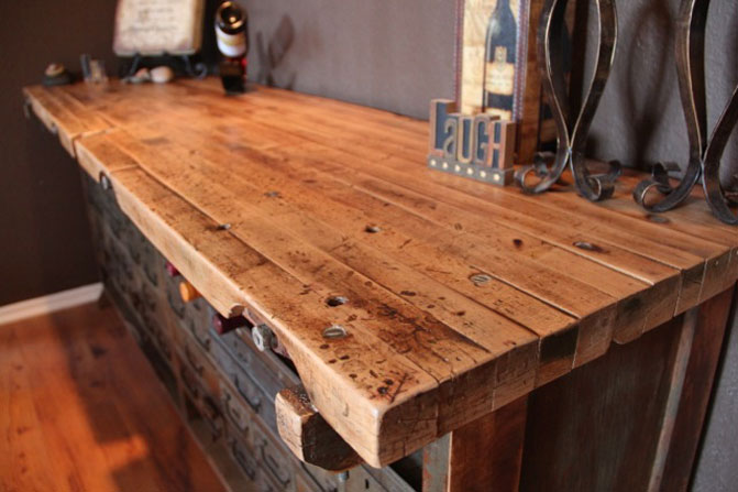 Reclaimed Wood Dining Table Los Angeles Reclaimed Wood