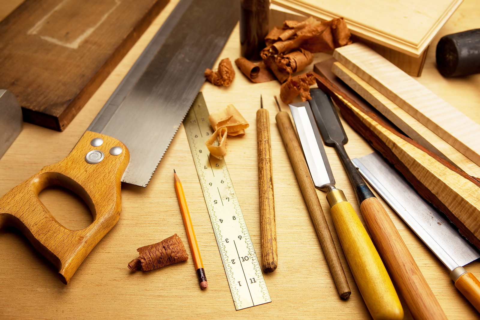 The Right Way To Start With Traditional Woodworking